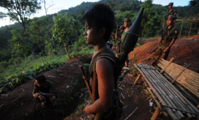 Only about half of the rebel groups have agreed to the peace deal. Photo AFP