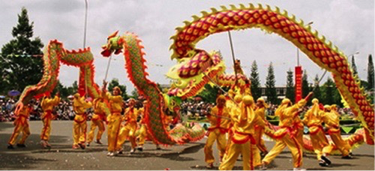 Tet lunar New Year celebrations in Vietnam.